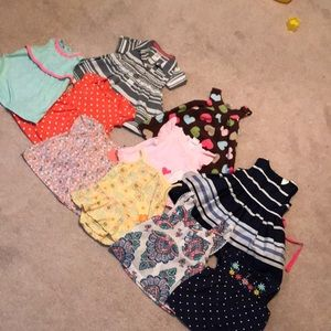 Other - Bundle of cute, 3 month baby girl dresses